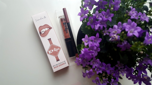 Trwała pomadka K*Lips od Lovely || Milky Brown, Pink Poison