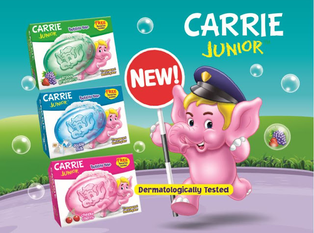 Bubbly Bar Produk Terbaru Carrie Junior | Wangi Dan Sangat Disukai Anak, CARRIE JUNIOR Bubbly Bar, bubbly bar carrie junior, carrie junior, sabun mandi carrie junior, CARRIE JUNIOR Bubbly Bar - Groovy Grapeberry, Cheeky Cherry dan Double Milk , harga carrie junior bubbly bar,