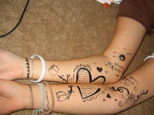 Agridoce Tatuagens Que Se Completam