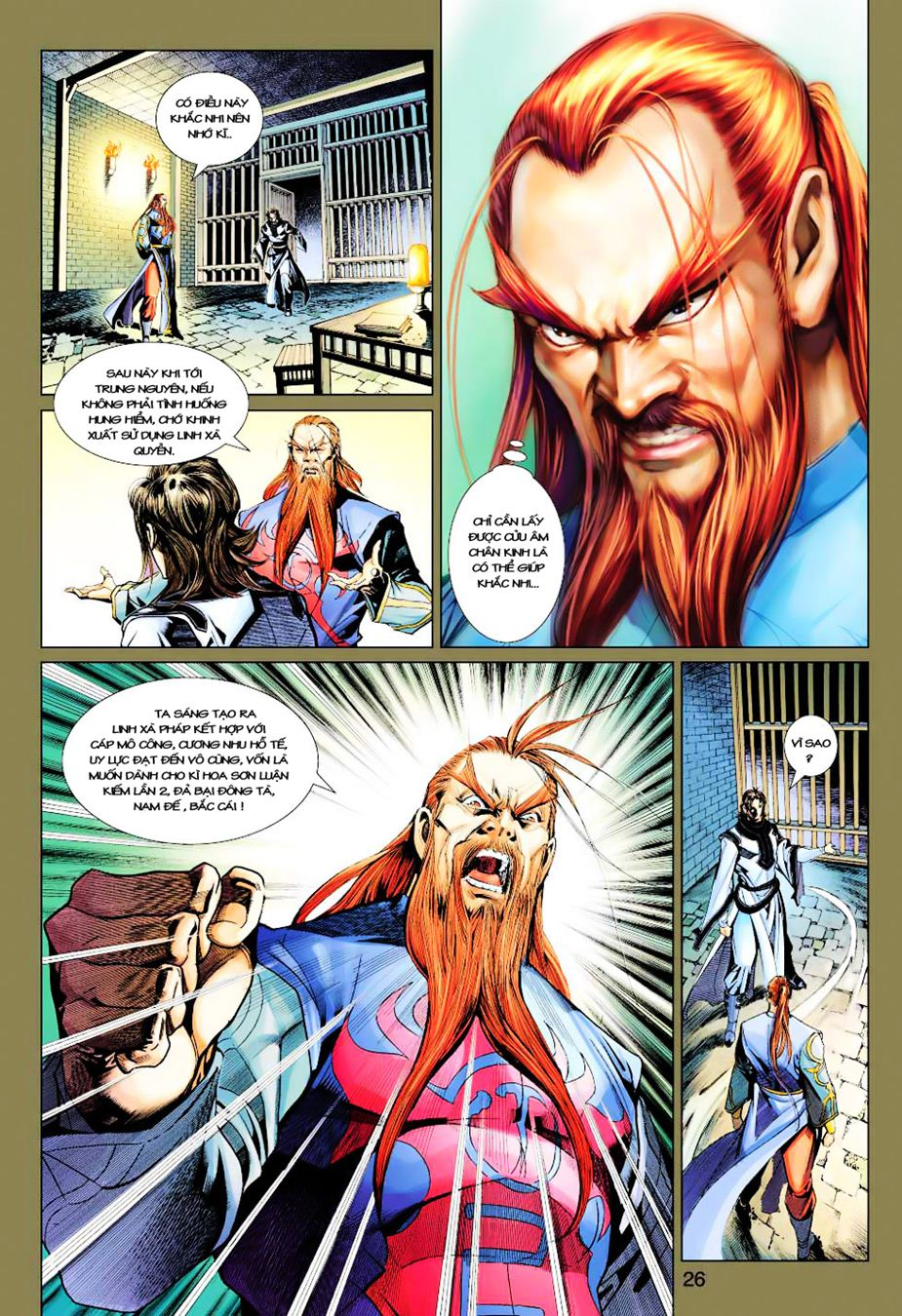 Anh Hùng Xạ Điêu anh hùng xạ đêu chap 35 trang 26