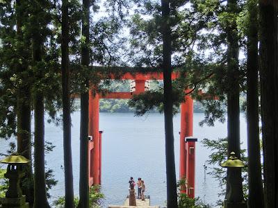 箱根神社水中鳥居