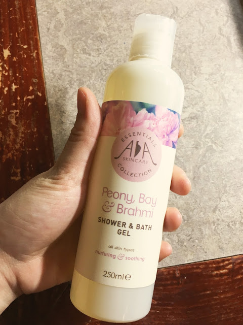 aa review, aa skincare body wash peony review