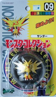 Zapdos Pokemon figure Tomy Monster Ball Collection series