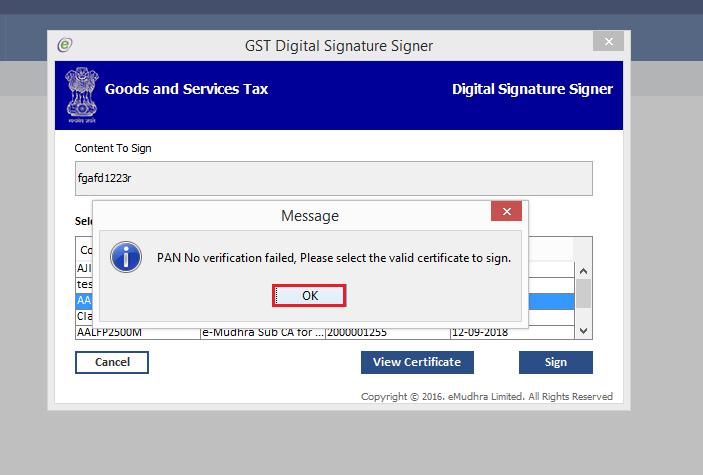 Digital Signature Certificate Issues in GST   Mygsthub com