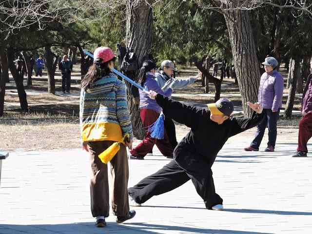 Kung fu - Visite du temple du vent à Pékin