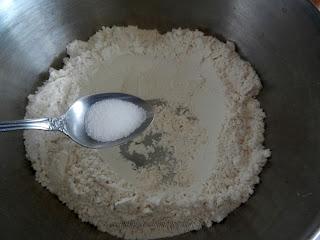 Cuadrados de coco y dulce de leche