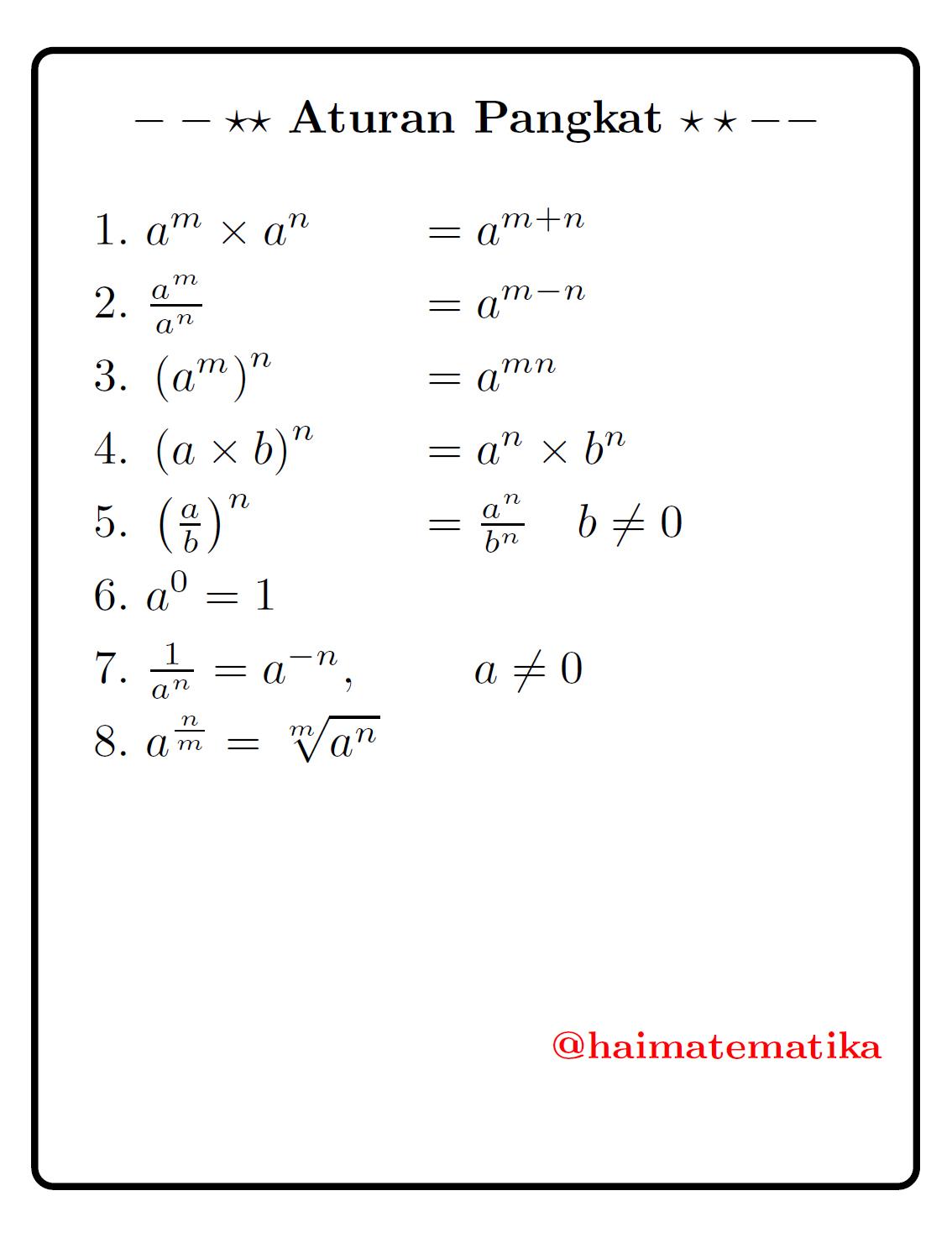 Contoh Soal Logaritma Akar Dan Pangkat Kumpulan Soal Pelajaran 7