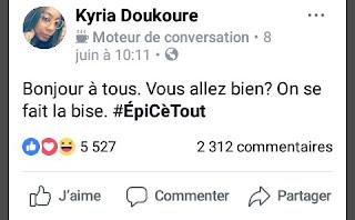 Un post de Kyria Doukoure sur ODCI