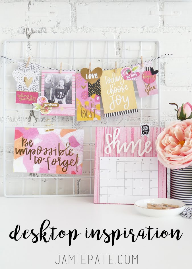 Desktop Inspiration by Jamie Pate for Bella Blvd  |  @jamiepate for @bellablvd