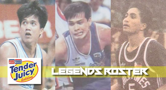 ROSTER LIST: Purefoods official Legends Lineup vs Ginebra