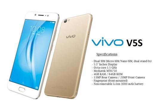 Vivo V5s 10 Android Gamers Spek Dewa harga Murah