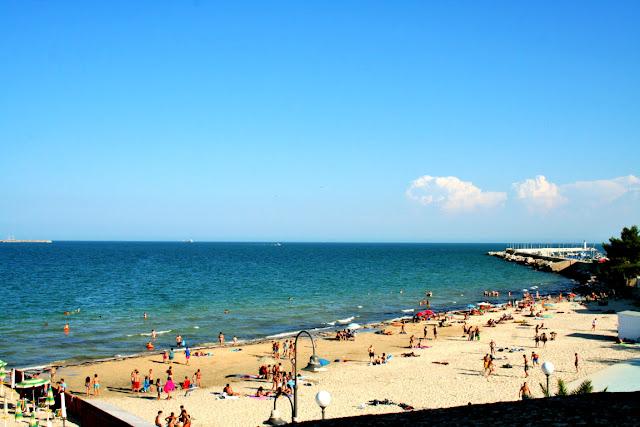 mare, cielo, spiaggia, bagnanti