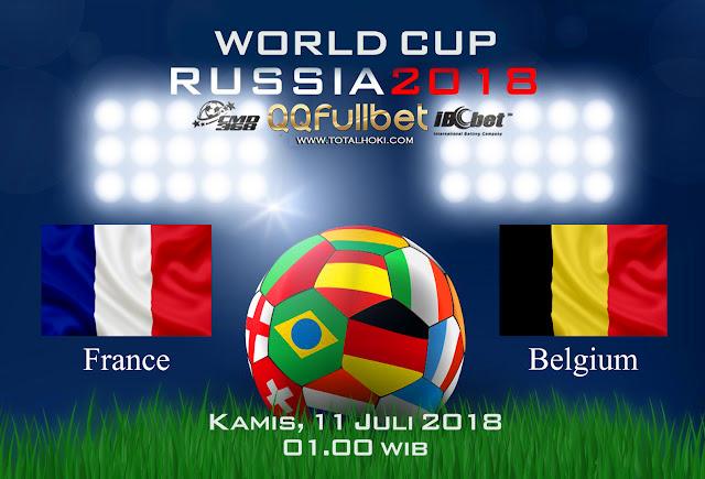 BOLA88 - PREDIKSI SEMIFINAL PIALA DUNIA: PERANCIS VS BELGIA 11 JULI 2018 ( RUSSIA WORLD CUP 2018 )