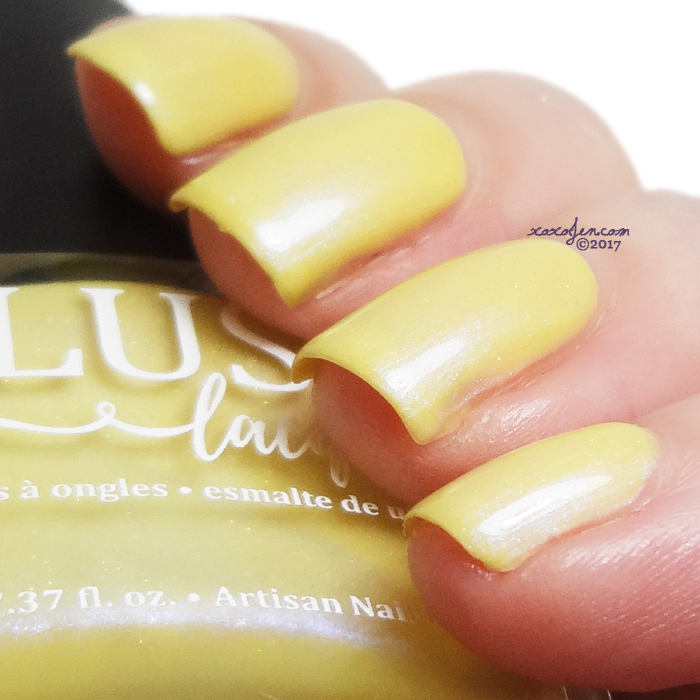xoxoJen's swatch of Blush Banana Boat Float