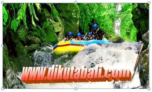 Jumping 3 meter Rafting Bali
