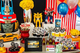 ideias Festa Transformers