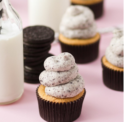 COOKIES AND CREAM CUPCAKES #dessert #cookie