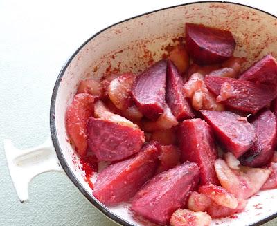 Roasted Beets & Pears
