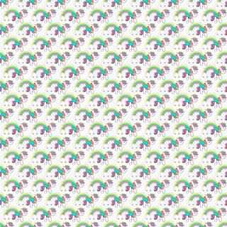 Fondos del Clipart de Unicornios para Scrapbook.