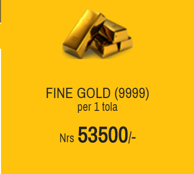 Baishakh 25 2074 Gold Price In Nepali Market