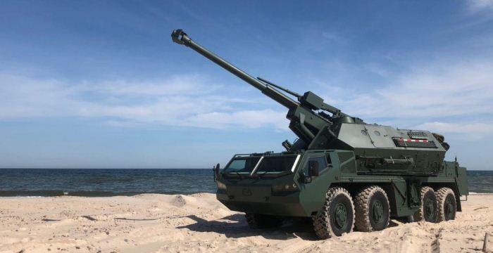 Howitzer DANA M2 baru