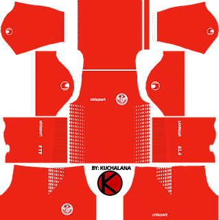 Tunisia 2018 World Cup Kit - Dream League Soccer Kits
