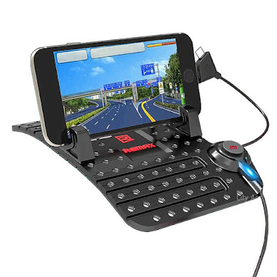 Remax Smartphone Car Holder With Charging USB Cable