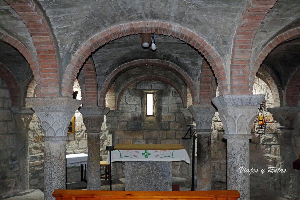Cripta de  Iglesia parroquial de Santa María de Ainsa
