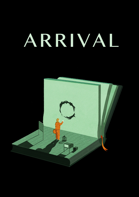 Arrival movie poster by Yu Sang