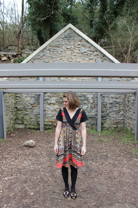 Colette Pattern's Wren Dress