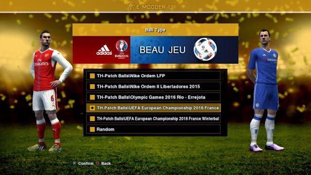 PES 2013 Update Patch Season 2016-2017 for PESEdit 6.0