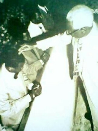 Throwback Photo Of E.A. Adeboye Being Ordained As A Pastor Of RCCG In 1975