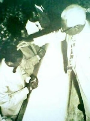 See Throwback Photo Of E.A. Adeboye Being Ordained As A Pastor Of RCCG In 1975