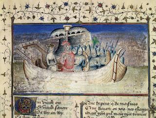 Viaje de Brutus de Troya a la isla de Gran Bretaña