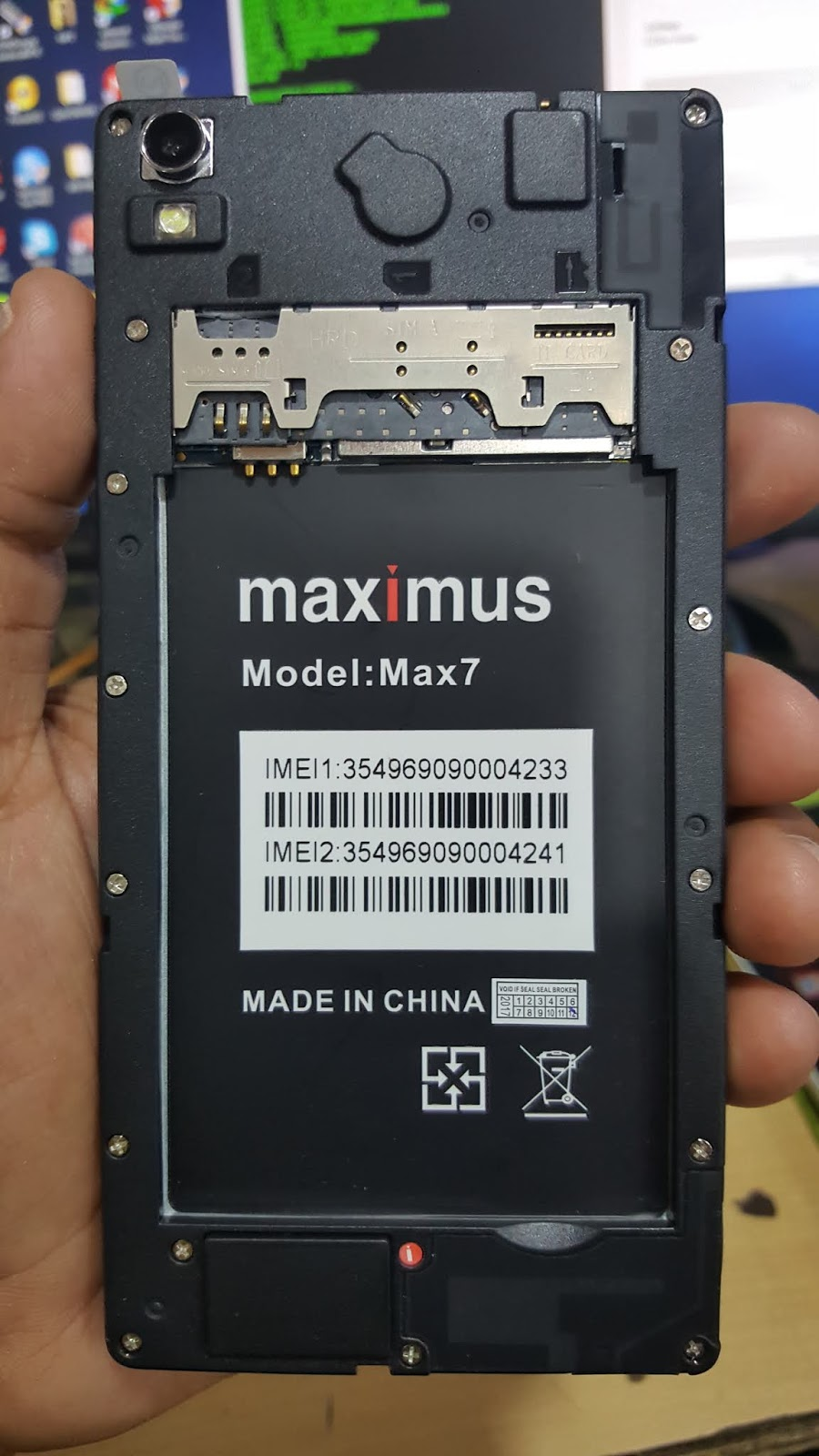Maximus Max7 Flash File