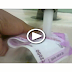 Washing new Indian 2000 rupees note gone wrong..