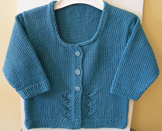 Provence Baby Cardigan