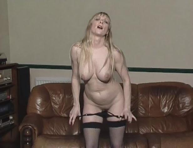 mom strips nude
