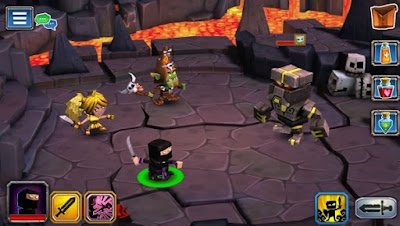 Dungeon Boss Mod Apk v0.5.6915 High Damage