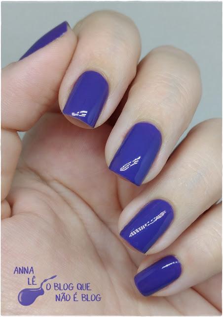Evita Peron Lapogee Esmalte Nailpolish Roxo Purple