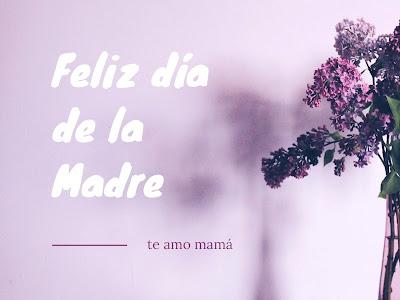feliz dia de la madre amiga