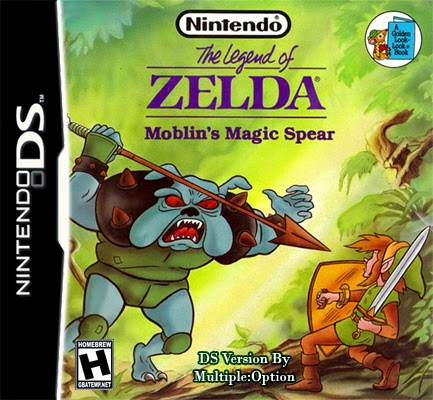 ROMs - The Legend of Zelda - Molblins Magic Spear (Português) - NDS Download