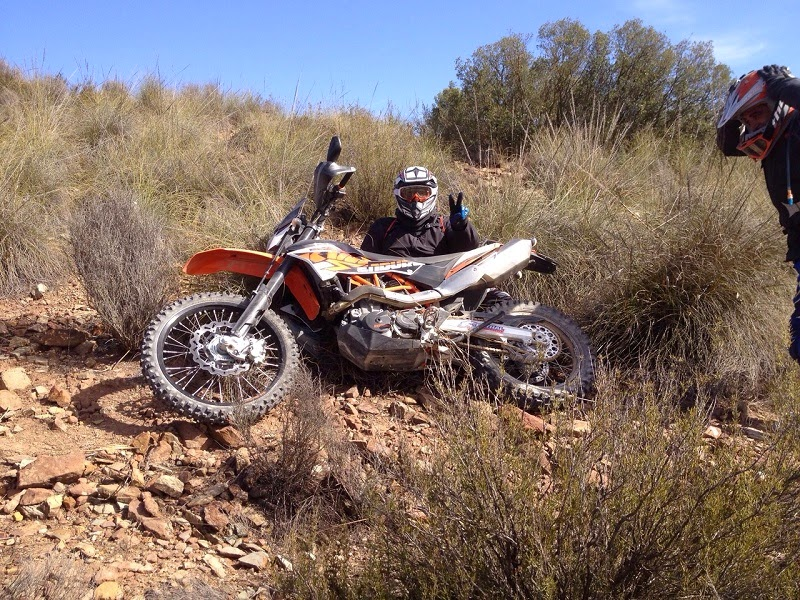 Playing with the KTM