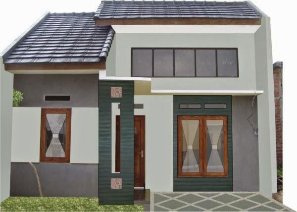 Model rumah minimalis type 21 yang sederhana
