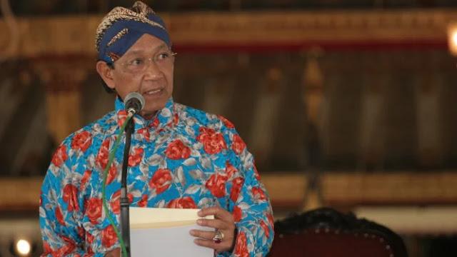 Sultan Yogyakarta Menyerukan Tiga Ajakan Jelang Pemilu