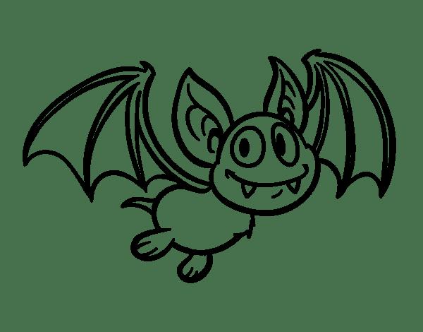 Blog MegaDiverso: Murciélagos Para Pintar E Imprimir