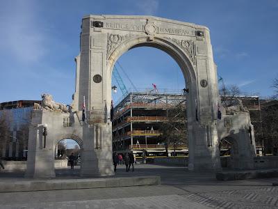 Puente de la Memoria. Christchurch, en Nueva Zelanda