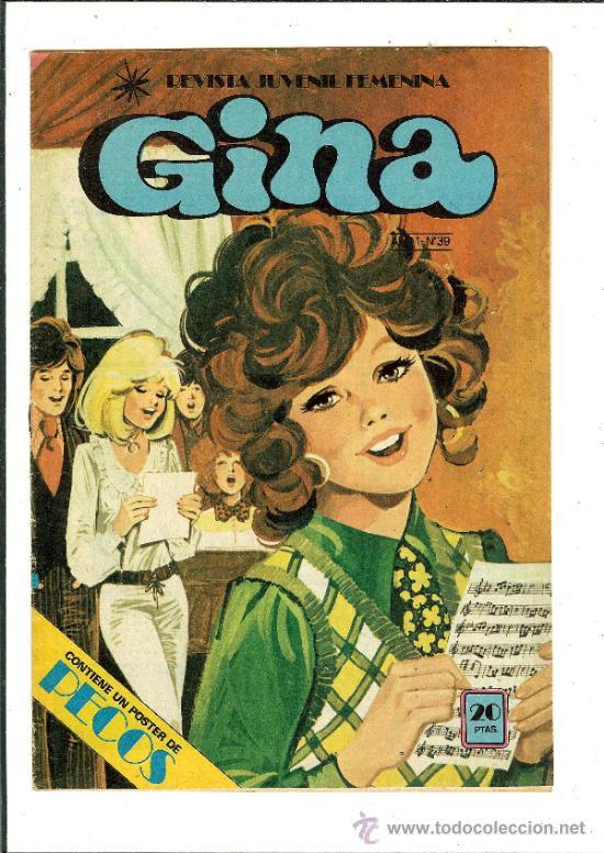 Gina Cómic revista