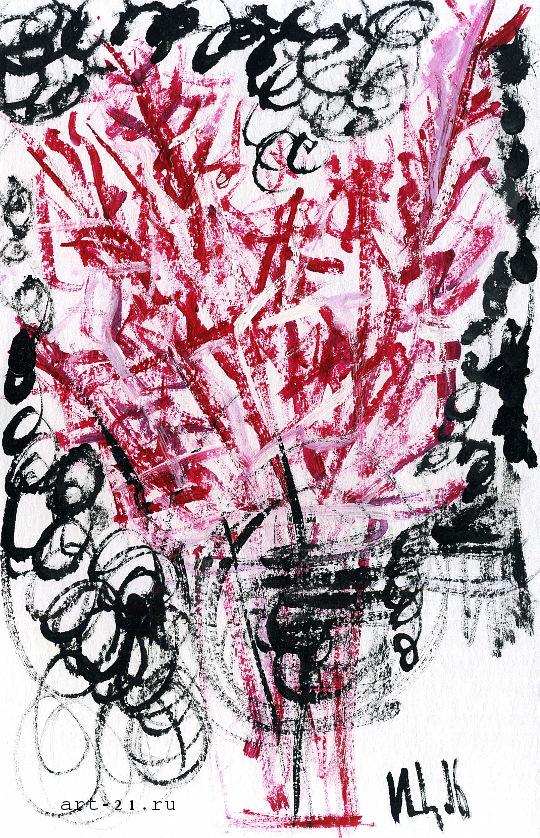 Modern art drawings - artist Ilya Tsurikov