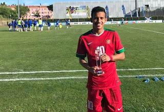 gaya rambut Egi Maulana Vikri  pemain sepak bola Indonesia
